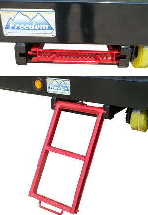 Retractable 2-Rung Ladder Step